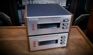Sony-TC-208-8-Track-Player-Pair-See-Demo-Video