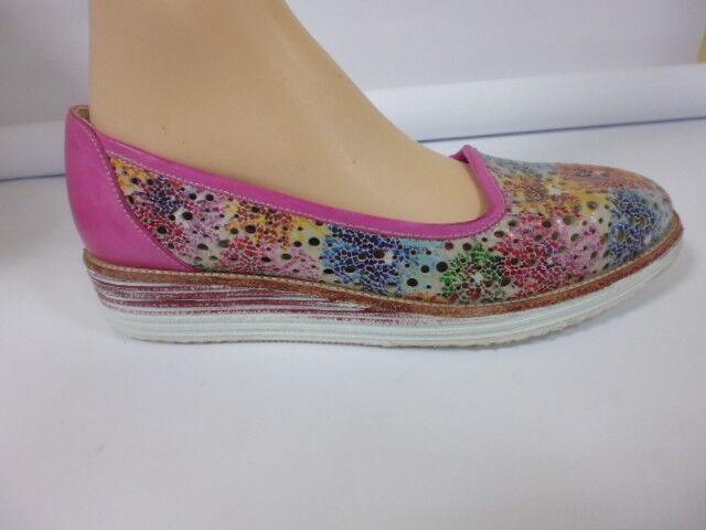 Zapatos mocasines mocasines Zapatos cuero bailarina iim77 talla 37 (4) 27352a