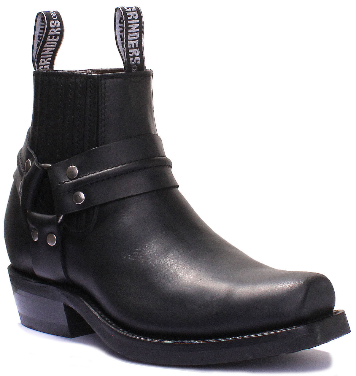 Grinders Renegade Low Unisex Leather Matt Cowboy Boots
