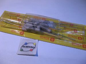 Pkg-10-Ohmite-Series-99-Part-95J4K0-4K-4000-OHM-5W-5-Wirewound-Resistors-NOS