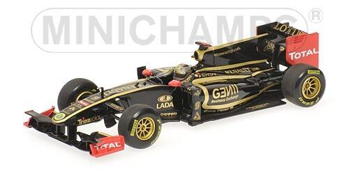 Cadeau Cadeau Cadeau de fin d'année, vente directe à l'usine Lotus Renault N. Heidfeld Showcar 2011 1:43 Model MINICHAMPS d7f94e