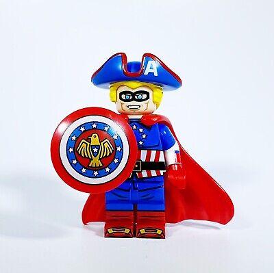 ⎡DRAGON BRICK ⎦Custom Hydra Captain America Lego Minifigure