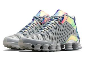 buy popular b3e0f ca47a Details about Mens 10 NIKE Shox TLX Mid SP Dusty Grey/reflect silver chrome  Shoes 677737-006
