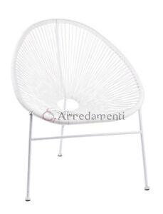 Sedie Da Esterno Design.Dettagli Su Poltrona Sedia Seduta Da Esterno Giardino Design Poltrone Poli Rattan Parabola