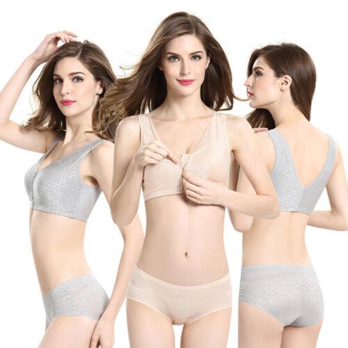 Front Zipper Closure Wirefree Extra Breathable Silk Bra The Gentle Bra Curve Bra