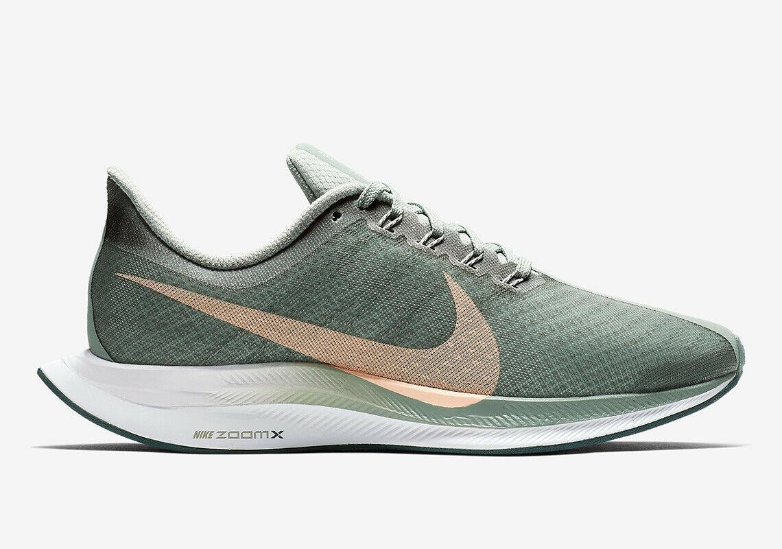 Nike Woherrar Zoom Pegasus 35 Turbo Mica grön Storlek 12, FITS MEN's 10.5 BRAND ny