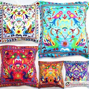 Floral-pattern-Indian-cushion-covers-Vana