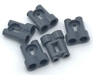 Lego 5 New Dark Bluish Gray Minifigure Utensil Binoculars Town Pieces