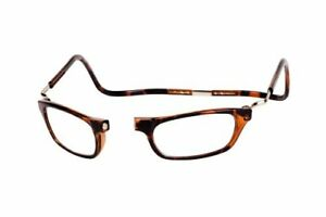 40fdc04141ec CliC Reader XXL Single Vision Half Frame DESIGNER Reading Glasses ...