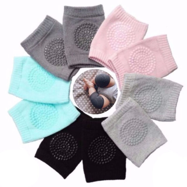 Safety Crawling Protect Elbow Cushion Infants Kids Toddlers Baby Knee Pads New