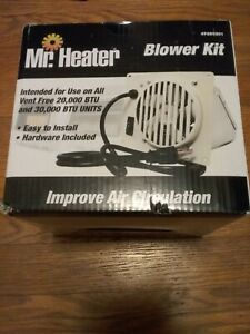Mr heater with blower