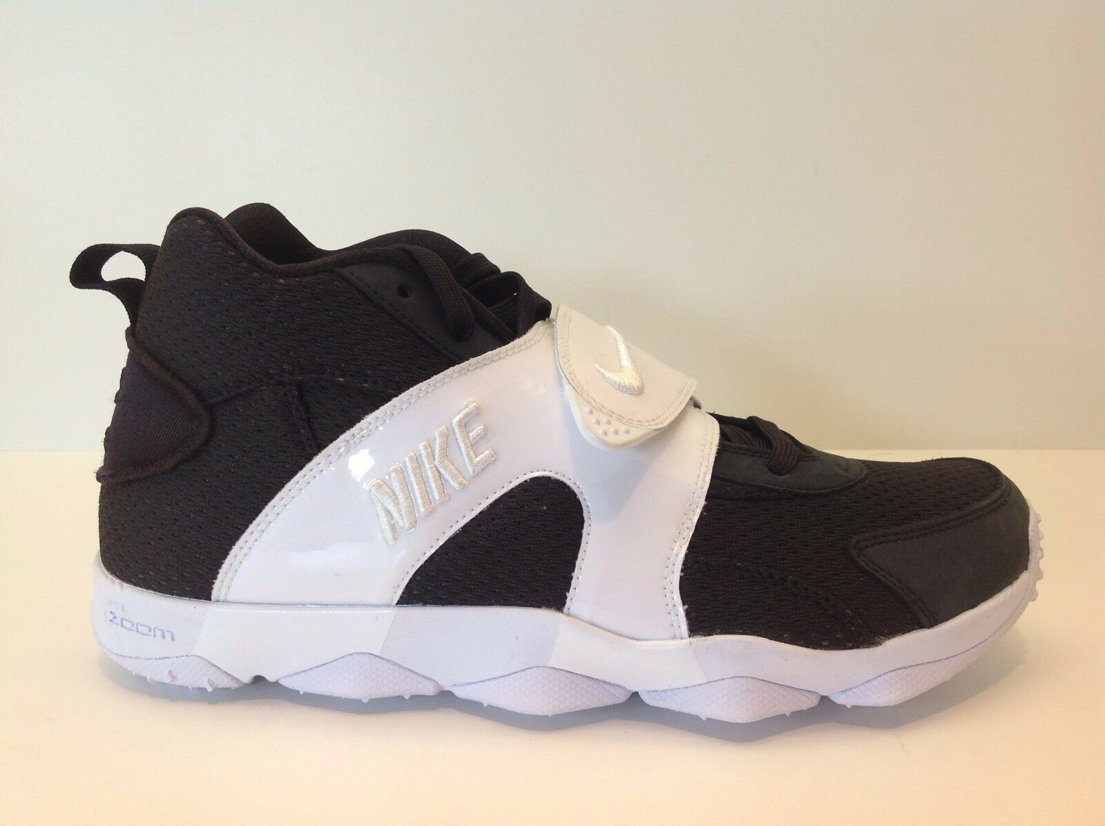 Nike 9.5-13 zoom über männer größe 9.5-13 Nike schwarz / weiß new in box 844675 001 413918