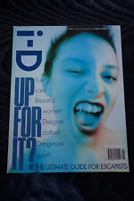 i-D iD MAGAZINE Issue 160 KELLI from Sneaker Pimps DAVID CRONENBERG J G BALLARD