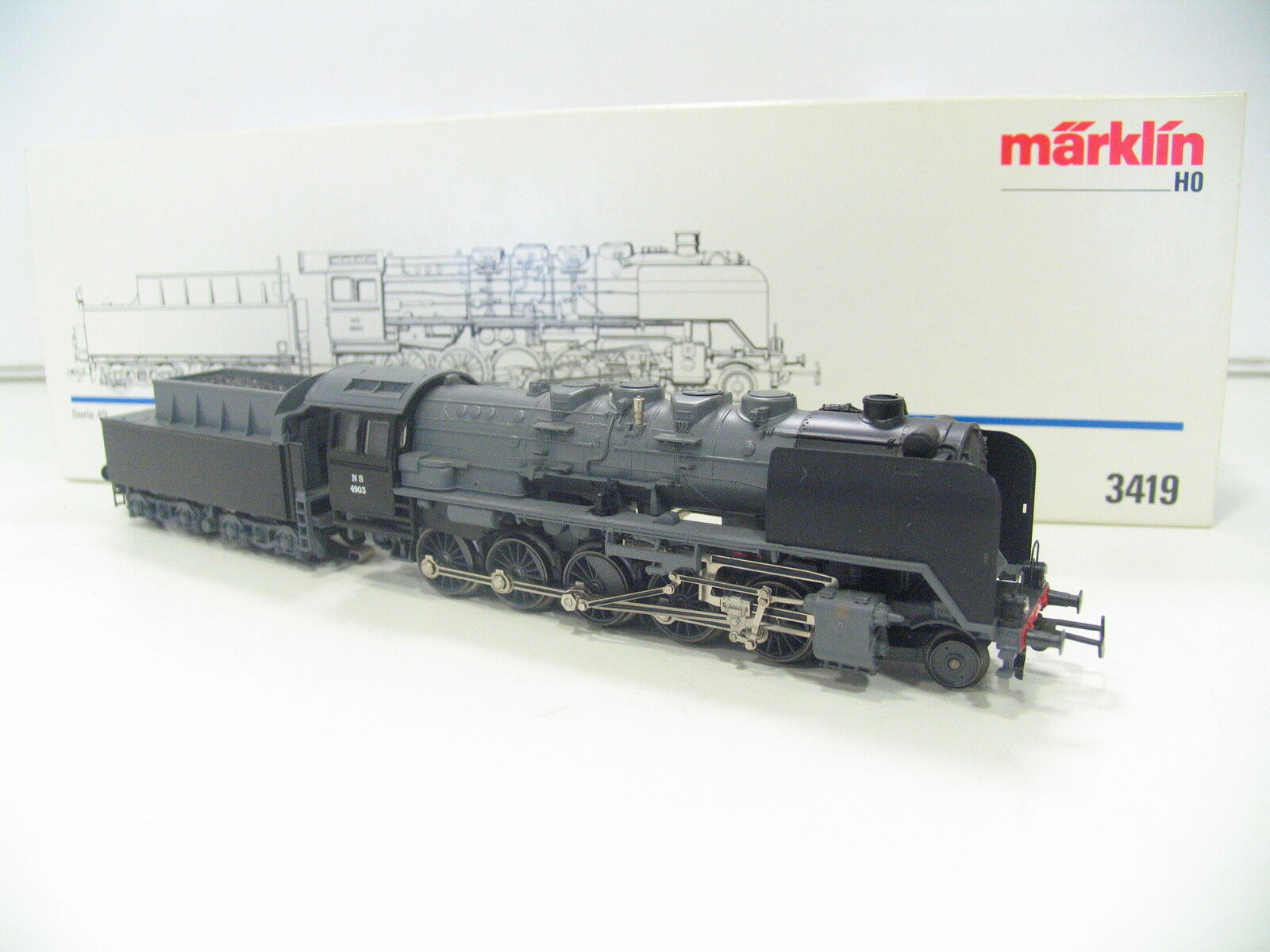 3419 locomotiva serie 49 di NS as372