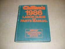 1983 1984 1986 1985 Olds Cutlass Buick Regal Chevy Camaro service parts manual