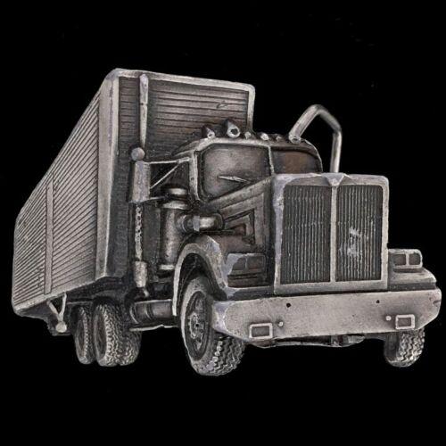 1977 Vintage Trucker Belt Buckle Trucking Big Rig Vintage Mack Truck Tractor Cab