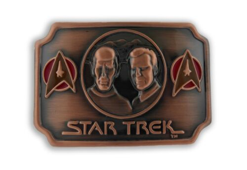 Star Trek Belt Buckle Officially Licensed Halloween Costume Uniform Badge Unisex