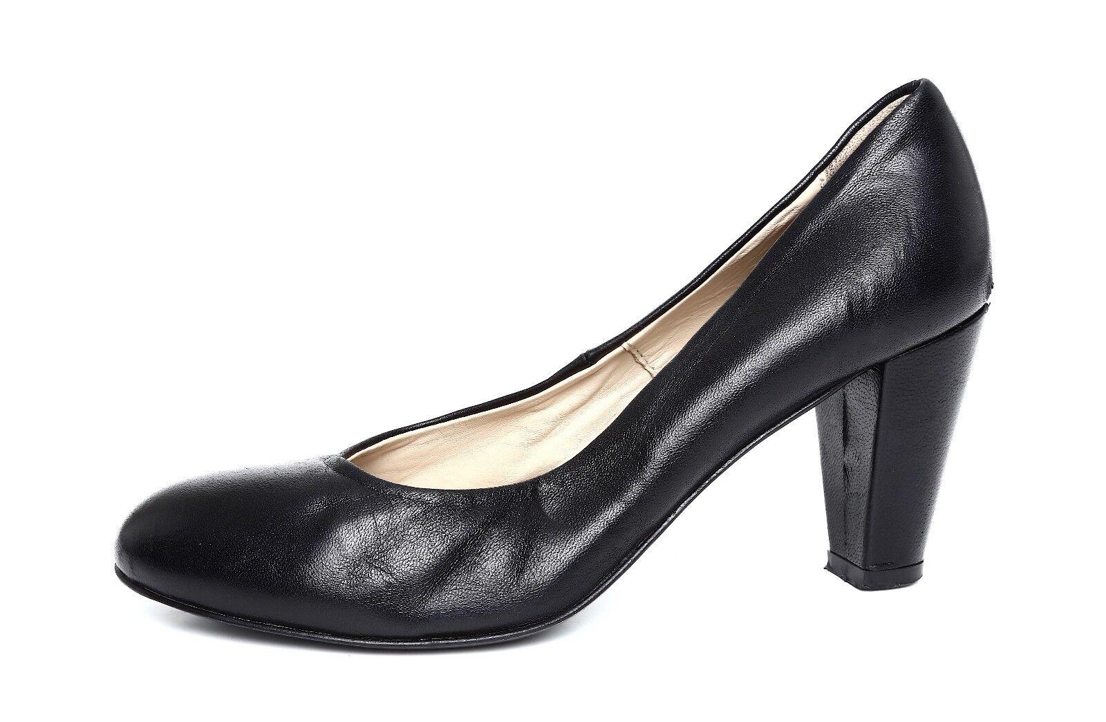 Attilio Giusti Leombruni Bomba de de de cuero negro de la mujer talla 35 EUR 9472  la calidad primero los consumidores primero