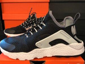 7f7da3e9beac3 Nike Women s Air Huarache Run Ultra SE BLACK COOL GREY 859516 002 ...