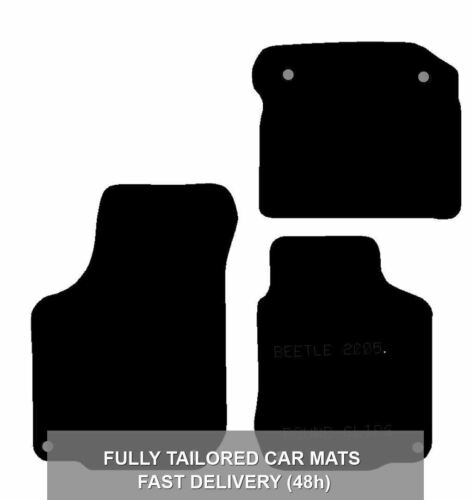 Clips 2005 2006 2007 2008 2009 2010 2011 Tailored Car Mats for VW Beetle 05-11