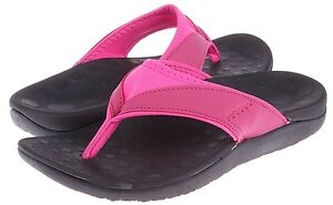Comforthotics-Women-039-s-Connie-Pink-Sandal-Comfort-Flip-Flop-Orthotic-Support