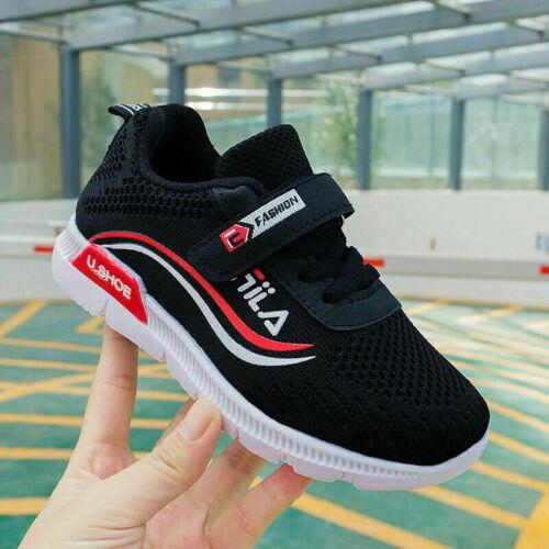 Kinder Laufschuhe Jungen Mädchen Sport Sneakers Atmungsaktiv Turnschuhe Gr.26-37