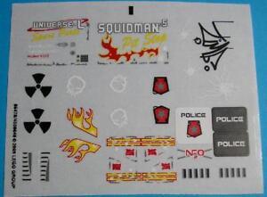 Precut Lego Custom Stickers for Classic Space Torsos ...   Lego Space Sticker Sheets