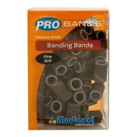 Medicool Sanding Bands Fine Grit Box/90pcs + Free Mandrel 3/32