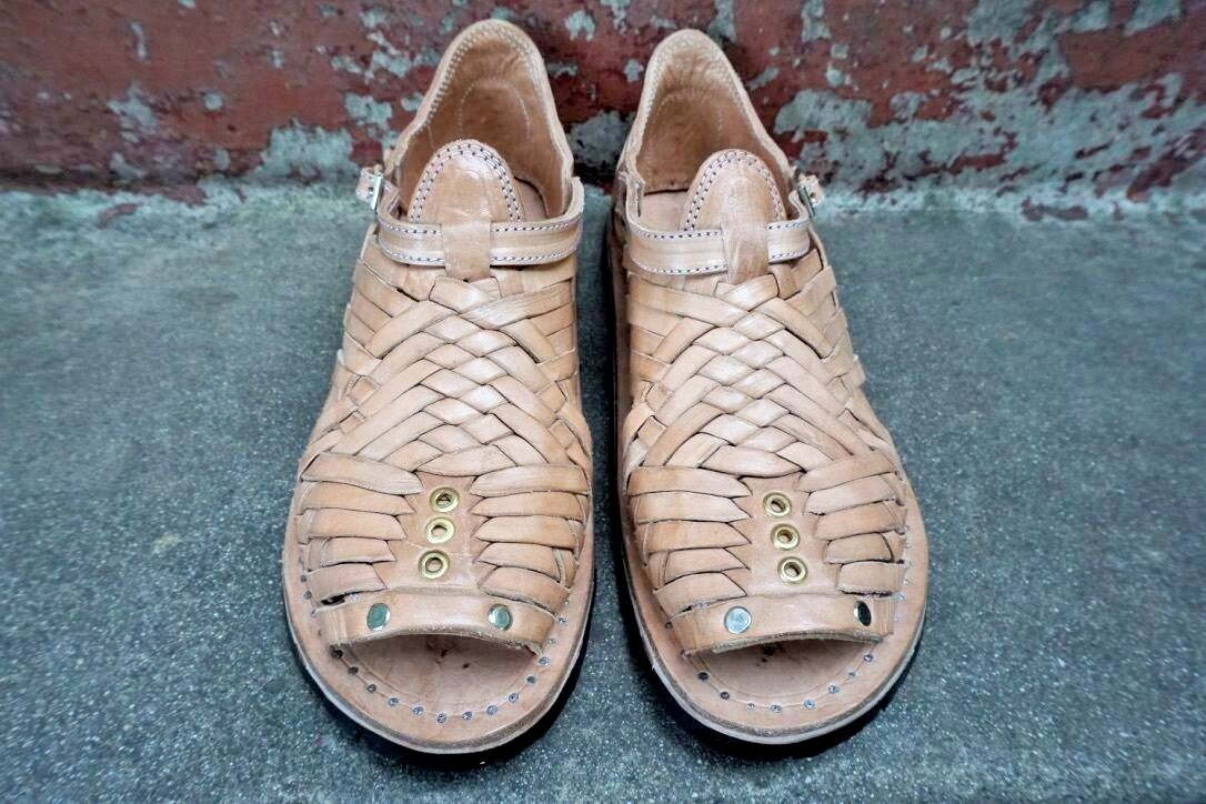 ACME HUARACHES  PIHUAMO CLASSIC STYLE mexican sandals men's huaraches ACME