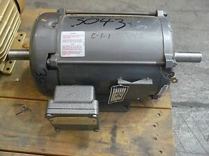 Baldor series aa29766 motor 1 5 hp 230 460 volt 5 2 amp for 3 phase motor hp to amps