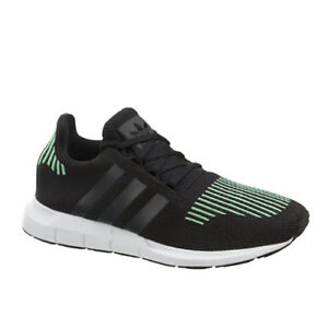 aa40fd907d89b Adidas Originals Swift Run J Kids Juniors Lace Up Trainers Black ...