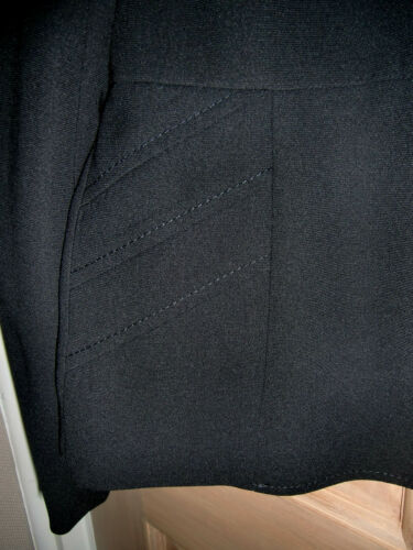 With 12 Black New Tailored Jacket Size Lining Blue qwnOZ1