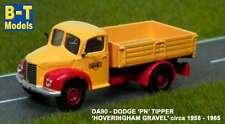 B-T Models DA90 Dodge 'PN' Tipper Red Yellow '00' 1/76th Scale New Box 1st class