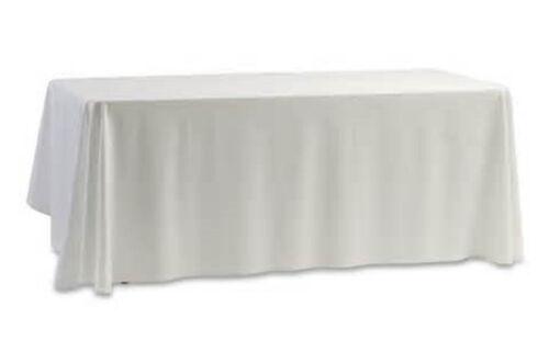 1 restaurant wedding linen table cloth poly 52 x 114