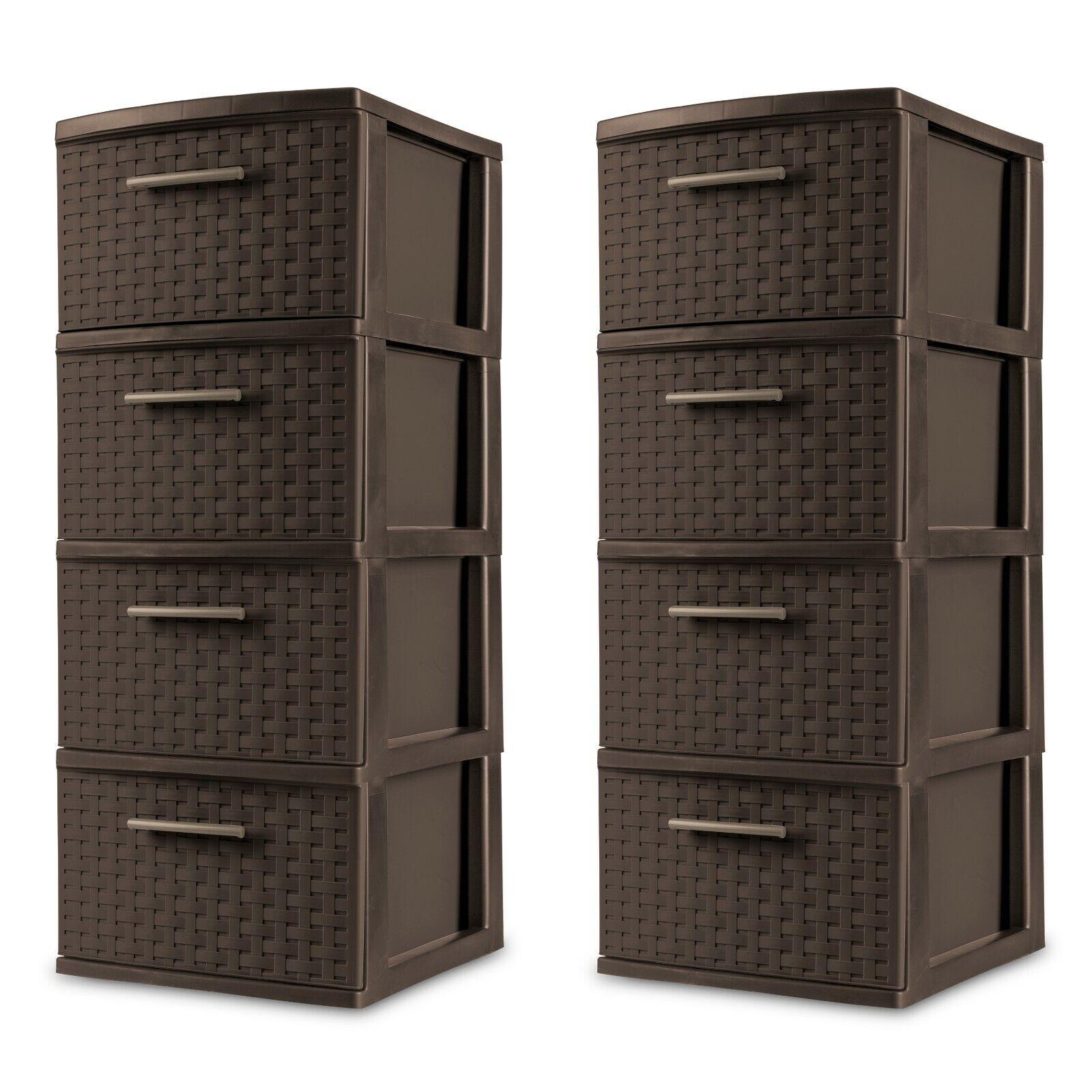 Narrow Drawer Unit Slim Storage Drawers