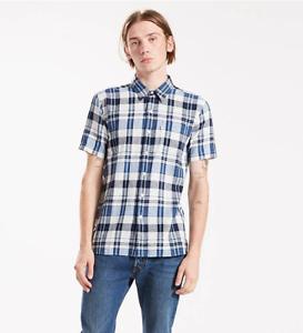 715679c81fdd9 Levi s® Sunset One Pocket Check Shirt Brant Dress Blues - Medium ...