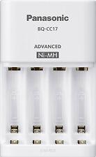 Panasonic AA AAA Ni-MH Advanced Quick Battery Charger BQ-CC17 Retractable AC 240