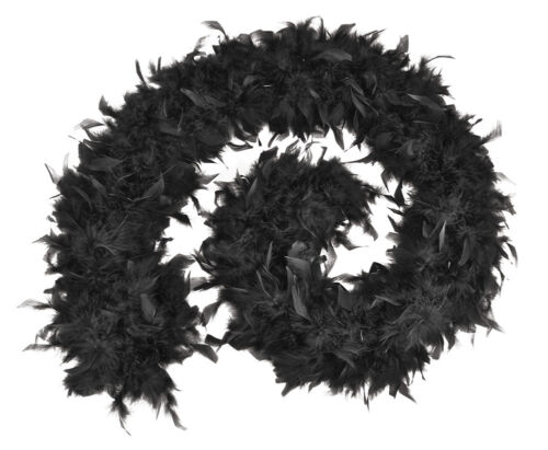 High Quality 80g Black White Red Feather Boa Hen Night Parties Party Fancy Dress