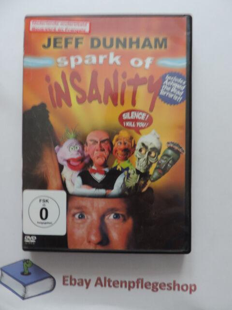 DVD: Jeff Dunham - Spark of Insanity inkl.deutscher U.->Bauchredner,Bauchreden
