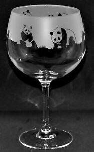 PANDA Frieze Boxed 30cl Glass Whisky Tumbler