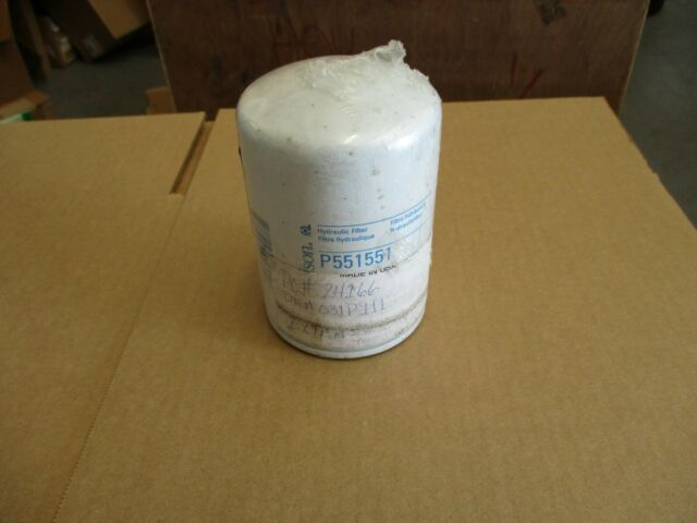 Spin-on Pack of 2 Donaldson P551551 Hydraulic Filter