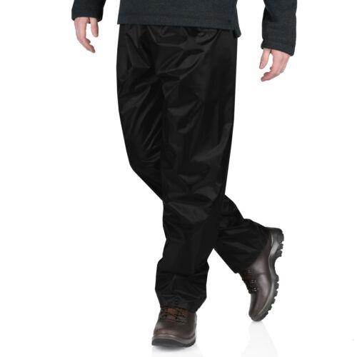 Mens Ladies Waterproof Over Trousers Windproof Hiking Motorcycle Rain Pants Lot