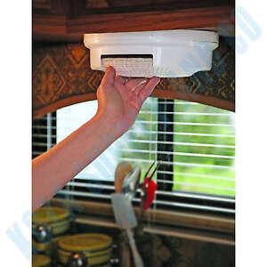 Paper Plate Holder RV Shelf Rack Dispenser Storage Organizer Cabinet Mount Under