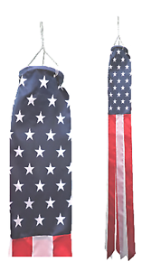 United States of America USA Flag Super 5' Windsock