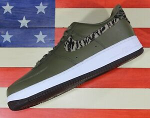 Nike-Air-Force-1-One-Low-AOP-Basketball-Shoes-Olive-Green-White-AQ4131-200-13
