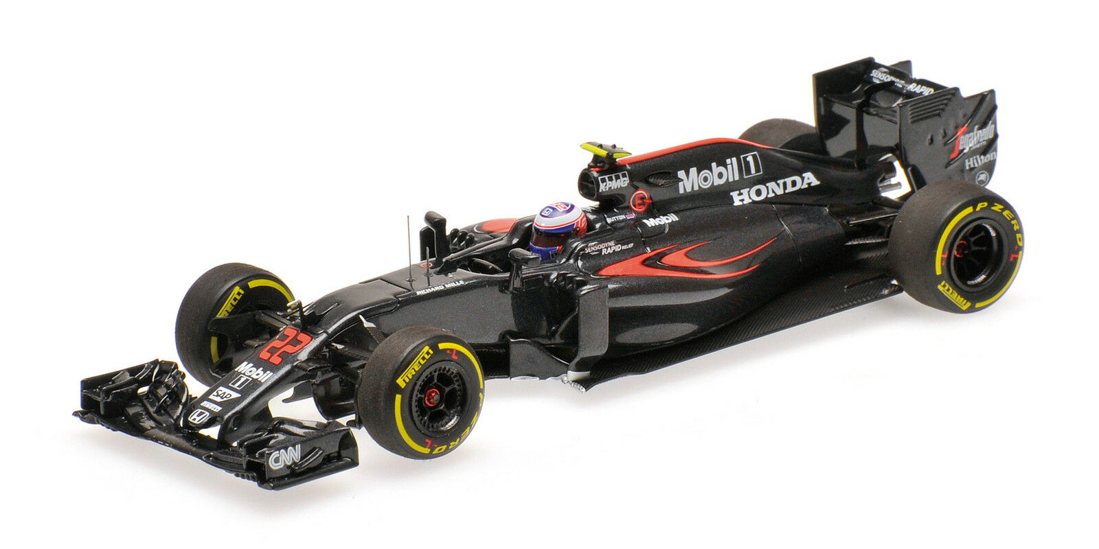 McLaren Honda MP4-31 Jenson Button Australian Gp 2016 1 43 Model MINICHAMPS