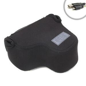 Protective-Soft-Pouch-Offset-Camera-Sleeve-for-Sony-Alpha-NEX-Cameras