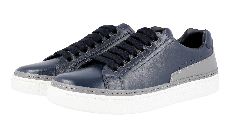 shoes PRADA LUSSO 4E2831 OLTREMARE ACCIA NUOVE 6 40 40,5