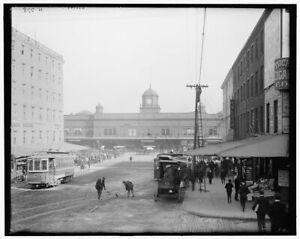 "1900-1910 Pennsylvania RR Ferries Phila Vintage Photograph 11/"" x 17/"" Reprint"