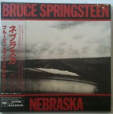 Bruce Springsteen Nebraska CD Japon edicion vinyl replica